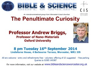 Prof Andrew Briggs on The Penultimate Curiosity