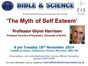 Prof Glynn Harrison Poster, 18 November 2014